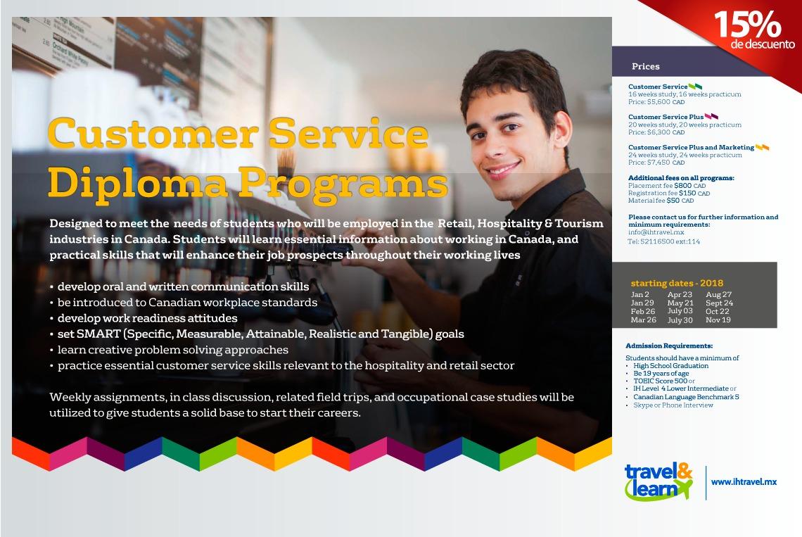 Customer Service program in Canada