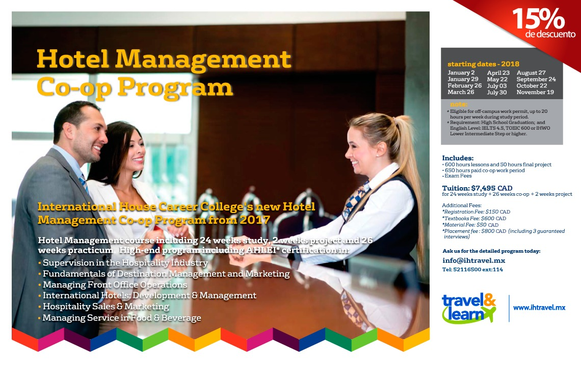 Hotel Management in Canada