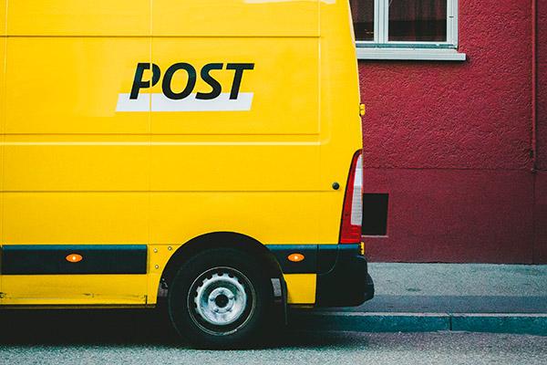 vagoneta correo postal