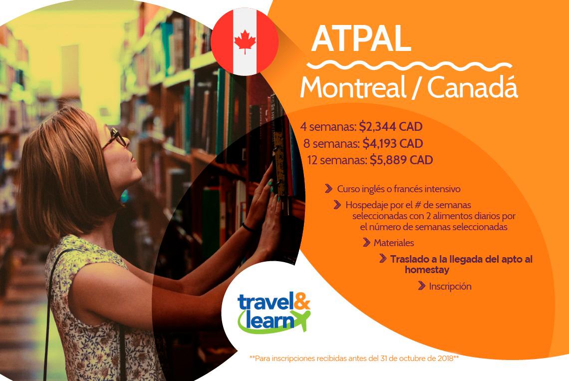 promoción Canadá ATPAL