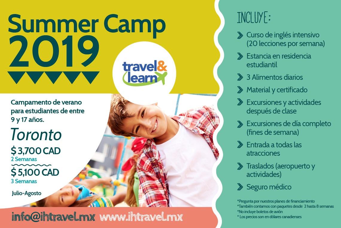 Summer camp Toronto 2019