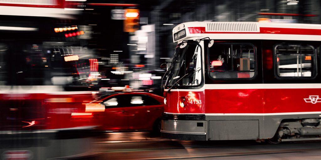 Tranvías de Toronto Canadá
