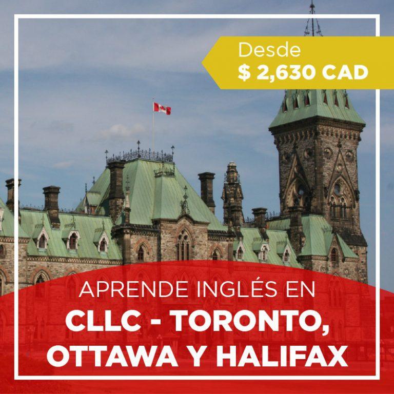 Curso de inglés en Toronto, Ottawa o Halifax