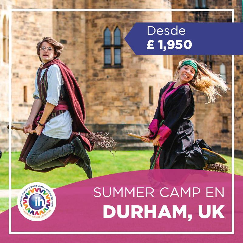 Curso de inglés en Durham Reino Unido